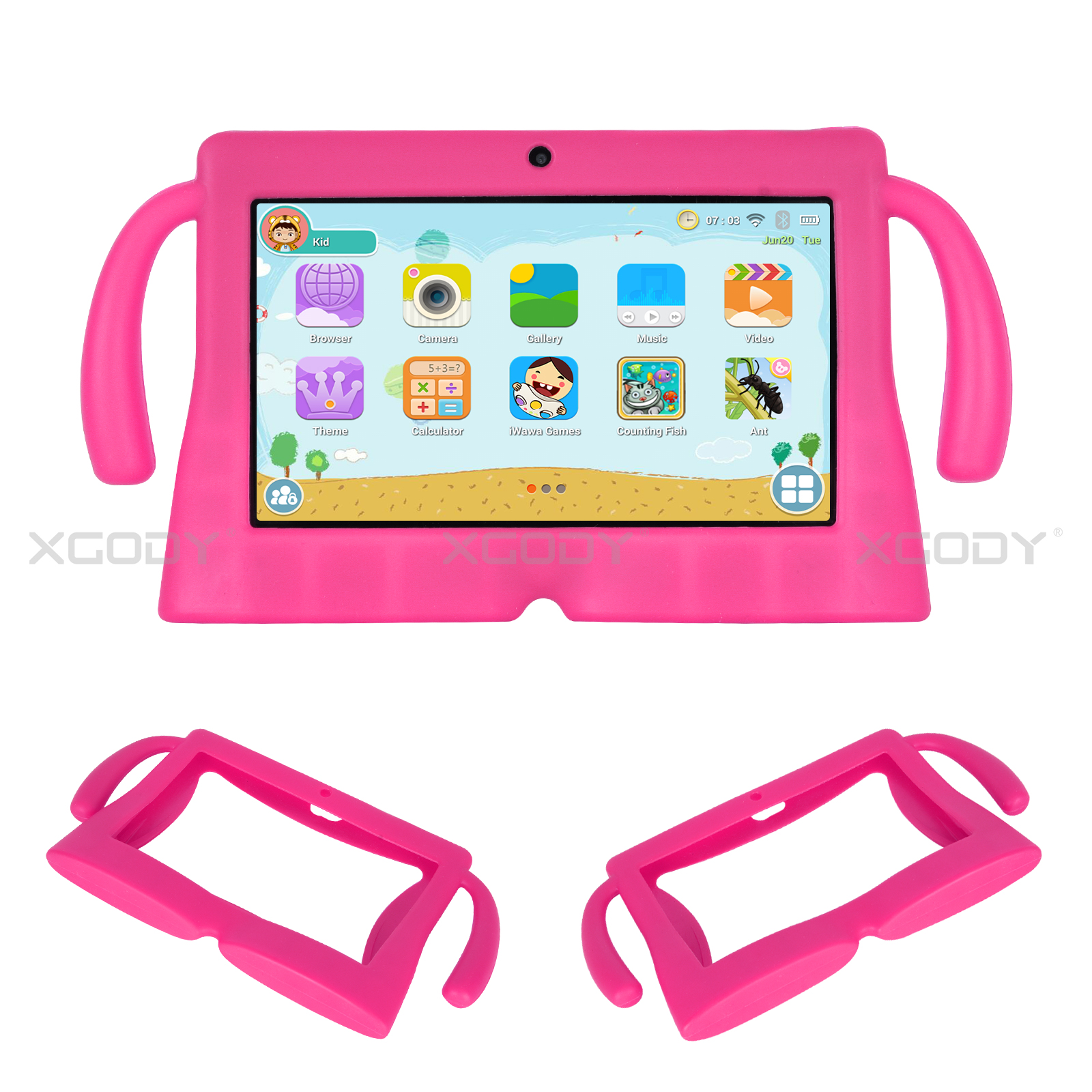 miniature 14 - Silicone Case Tablet Cover For Xgody 7 inch Tablet Waterproof Shockproof Cheap