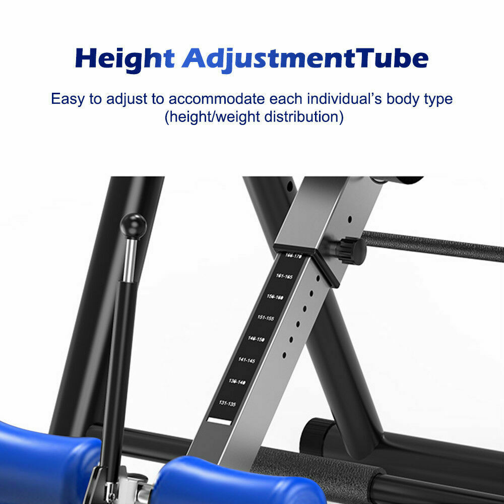 thumbnail 16 - Heavy Duty Inversion Table for Back Therapy Pain Relief Adjustable Stretcher NEW