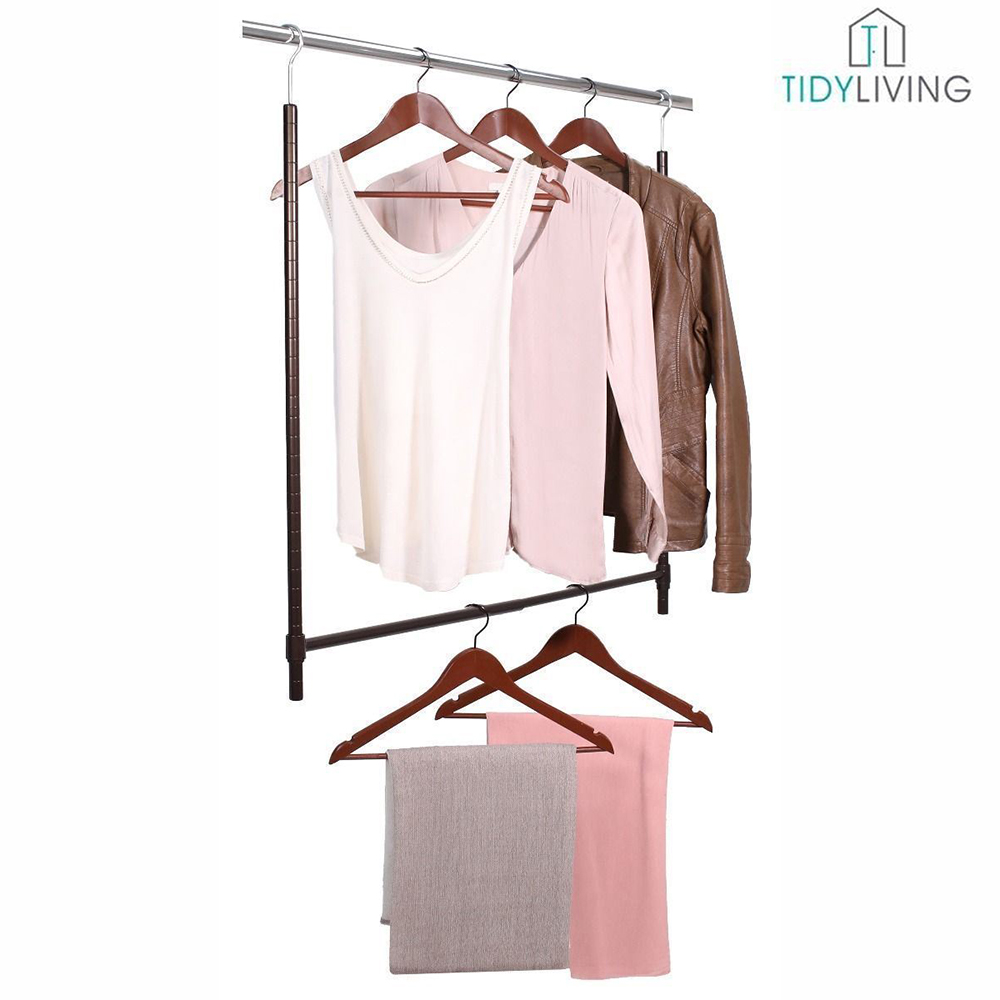 Ordinaire Double The Capacity Of Your Closet By Installing An Expandable Lower Closet  Rod From Tidy Living. The Secondary Rod Is Easy To Install And Creates A  Lower ...