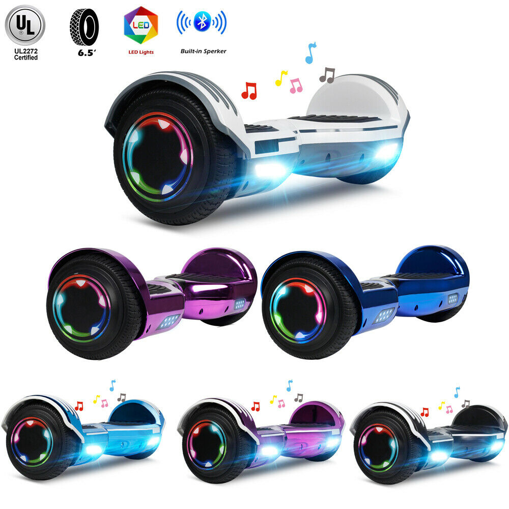 Bluetooth Hoverboard for Kids UL2272 Certified with LED Ligh