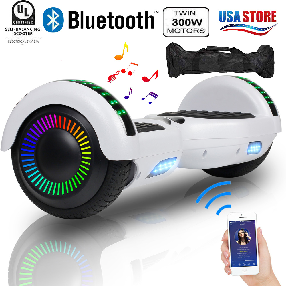 "6.5"" Hoverboard Electric Self Balancing Scooter Skateboard U"
