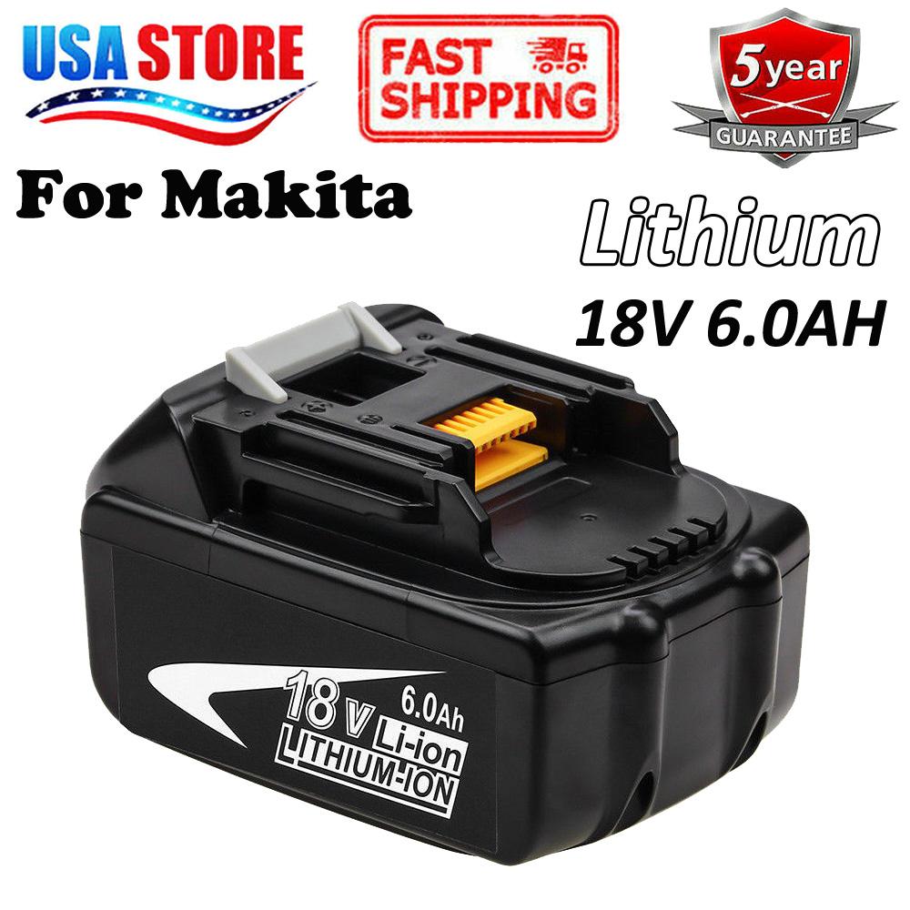 18V 5.0Ah Battery For Makita BL1850 194204-5 BL1815 BL1840 LXDT04Z LXT400 BL1860