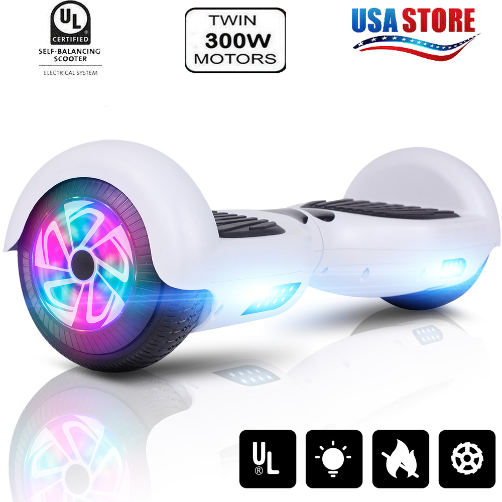 """6.5"""" Hoverboard Skateboard tWO Wheel Electric Self Balance S"""