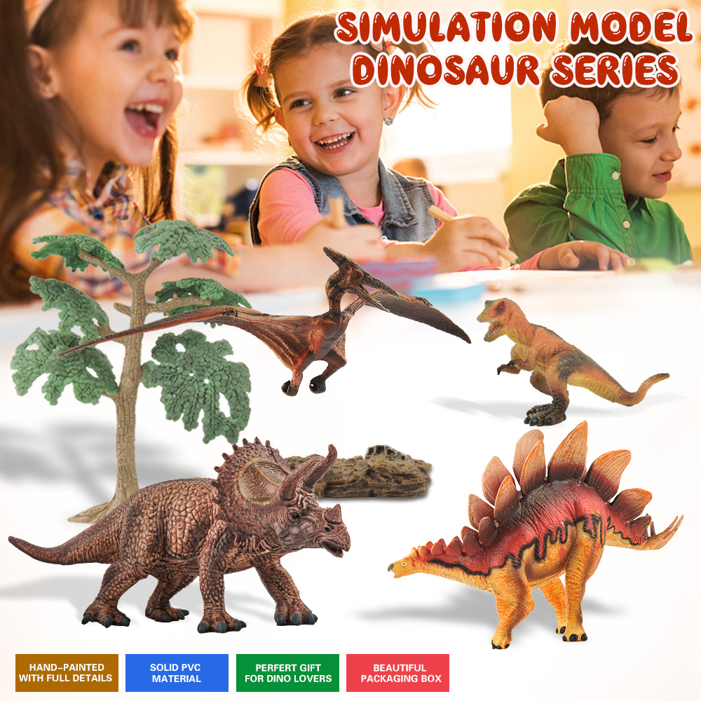 Dinosaur World Simulated Carnotaurus Figure Cryolophosaurus Kid Christmas Gift