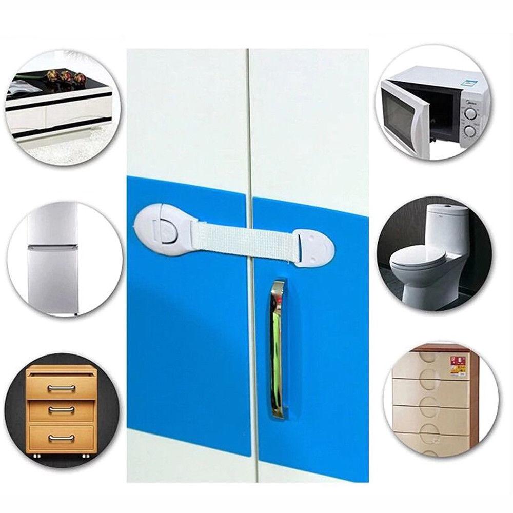 10 pcs child baby kids drawer door cabinet cupboard. Black Bedroom Furniture Sets. Home Design Ideas
