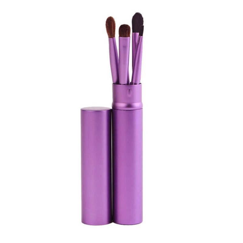 ec56b37dc275 Details about 5Pcs Travel Portable Eye Makeup Brushes Set Eyeshadow  Eyeliner Eyebrow Brush Kit