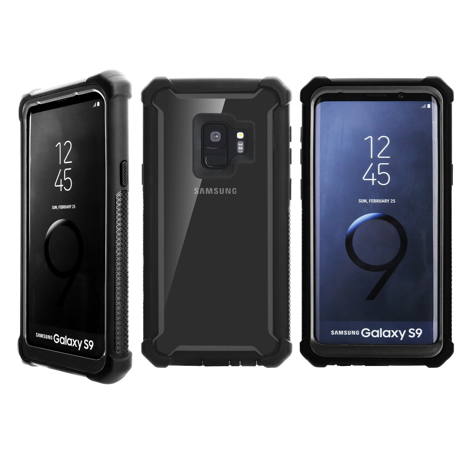 Shockproof-Hybrid-Bumper-Protective-Case-Cover-For-Samsung-Galaxy-S9-S9-Plus thumbnail 14