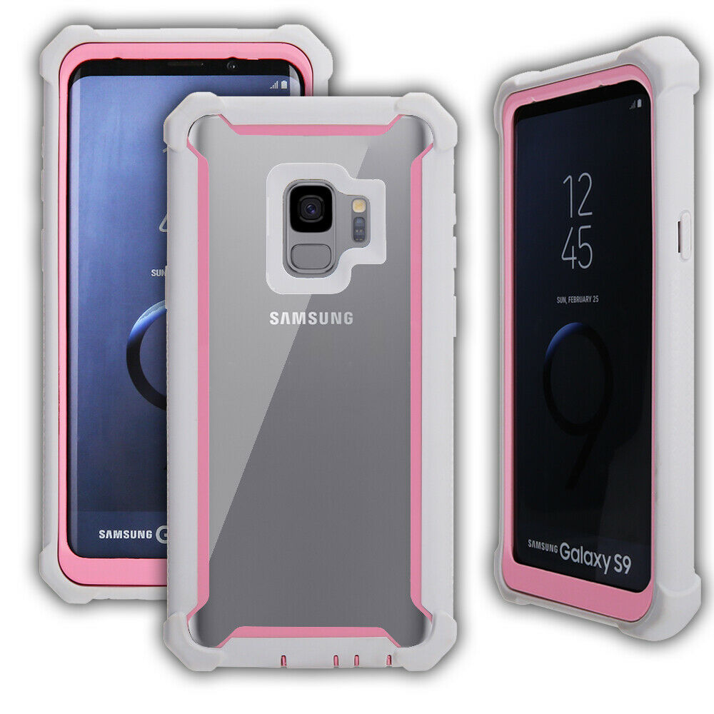 Shockproof-Hybrid-Bumper-Protective-Case-Cover-For-Samsung-Galaxy-S9-S9-Plus thumbnail 21