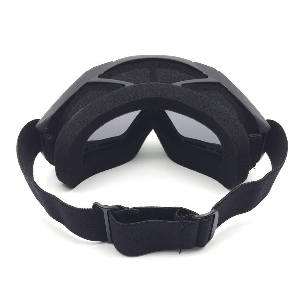 Motorcycle ATV Dirt Bike Riding Goggles Anti-Wind Glasses Face Mask Protective