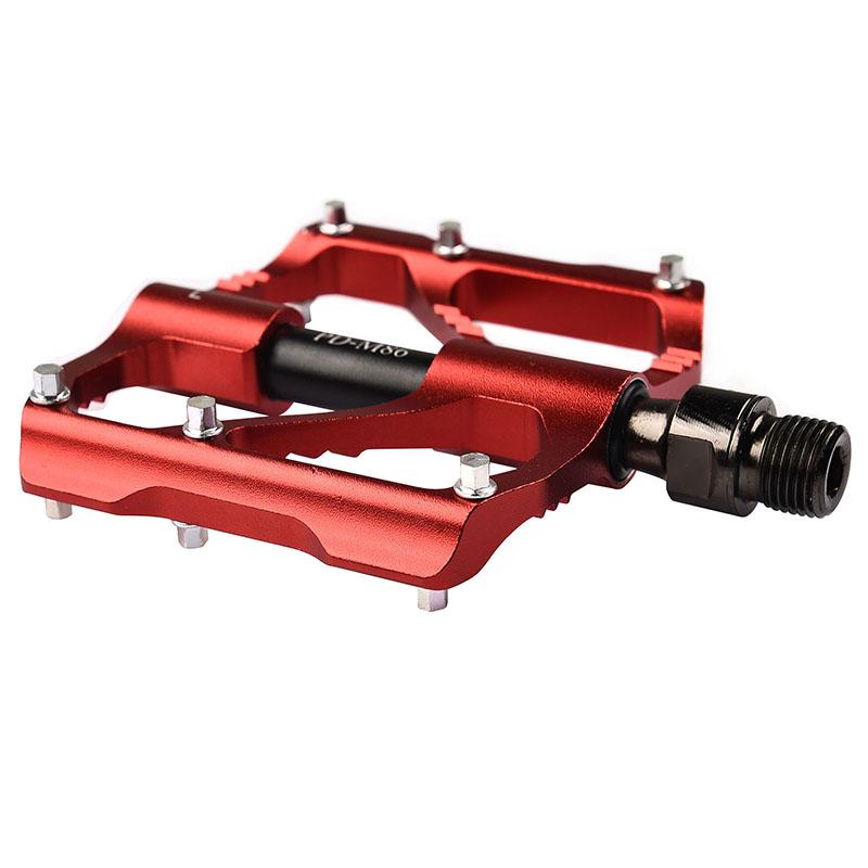 PROMEND-Sealed-Bearing-MTB-Road-Bike-Pedal-9-16-039-039-Flat-Aluminum-Bicycle-Pedals thumbnail 33