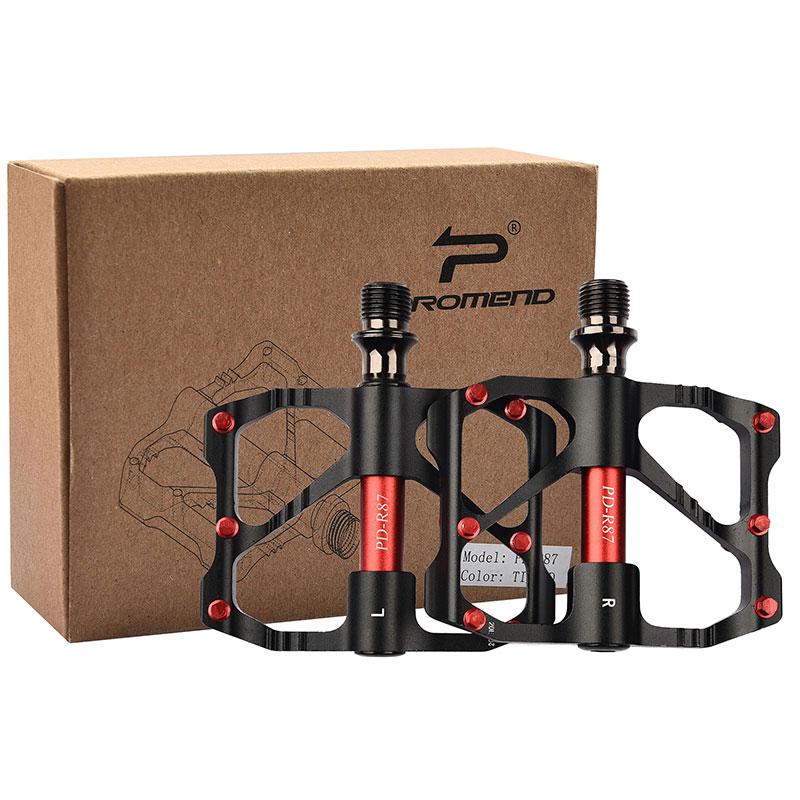 PROMEND-Sealed-Bearing-MTB-Road-Bike-Pedal-9-16-039-039-Flat-Aluminum-Bicycle-Pedals thumbnail 48