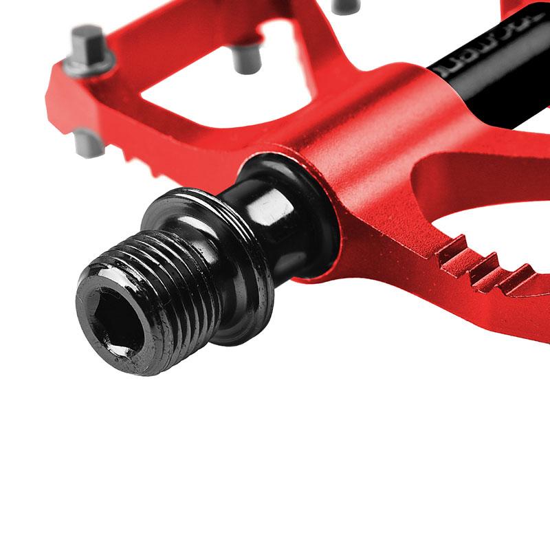 PROMEND-Sealed-Bearing-MTB-Road-Bike-Pedal-9-16-039-039-Flat-Aluminum-Bicycle-Pedals thumbnail 50