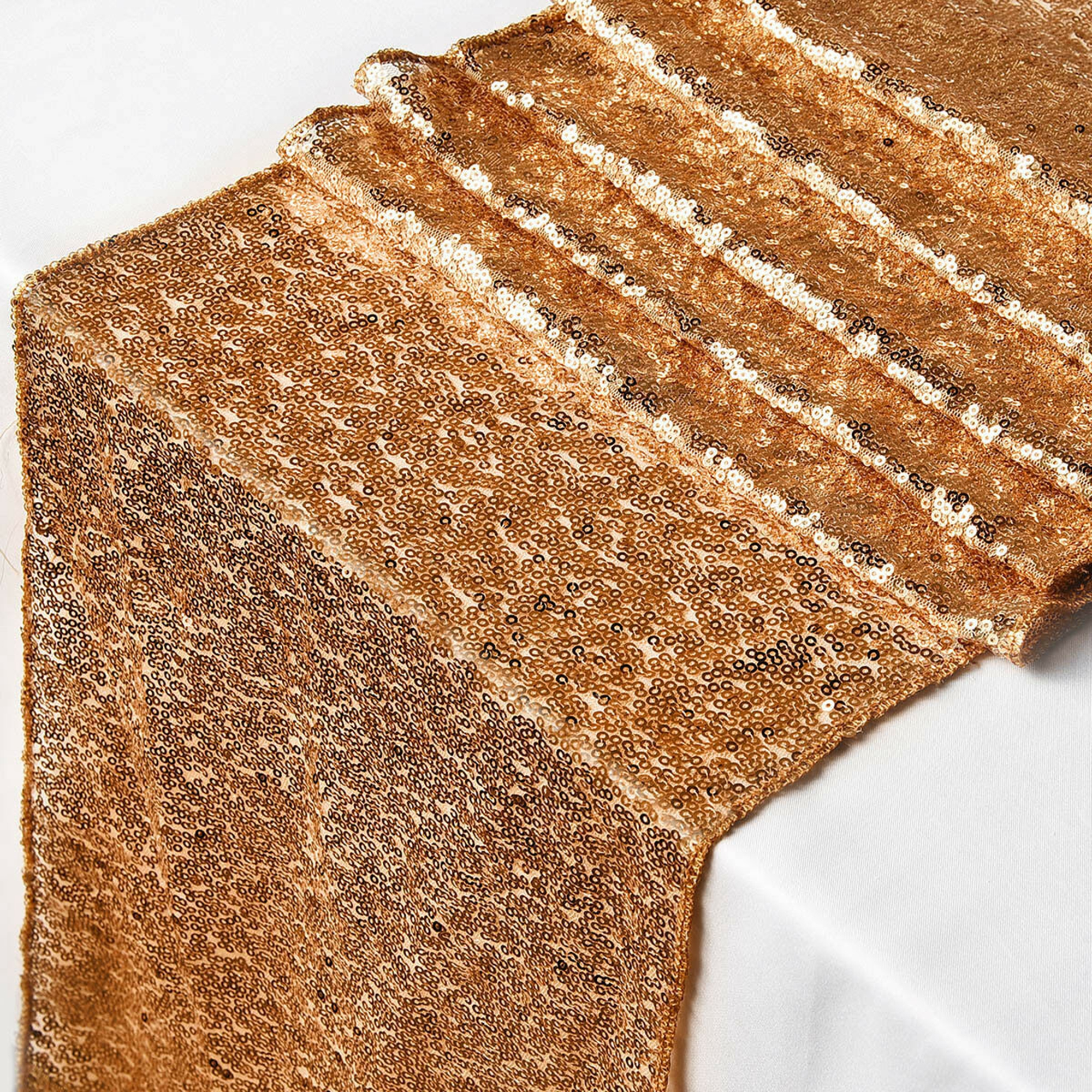 12-034-x-72-034-Glitter-Sequin-Table-Runner-Cloths-for-Xmas-Party-Banquet-Wedding thumbnail 19