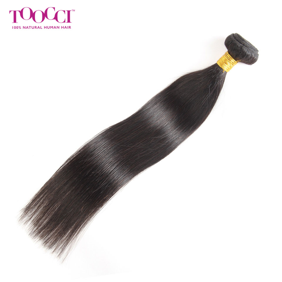 8A-Brazilian-Virgin-Straight-100-Human-Hair-1-3-Bundles-with-Lace-Closure-US thumbnail 15