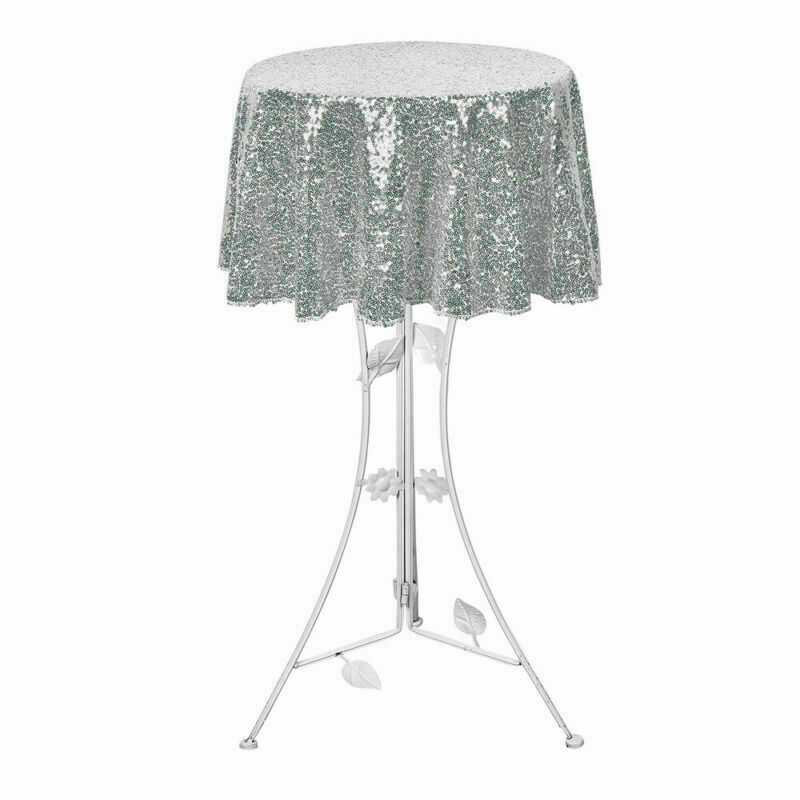 Sparkly-Round-Sequin-Tablecloth-Cover-Wedding-Banquet-Christmas-Party-Home-Decor thumbnail 20