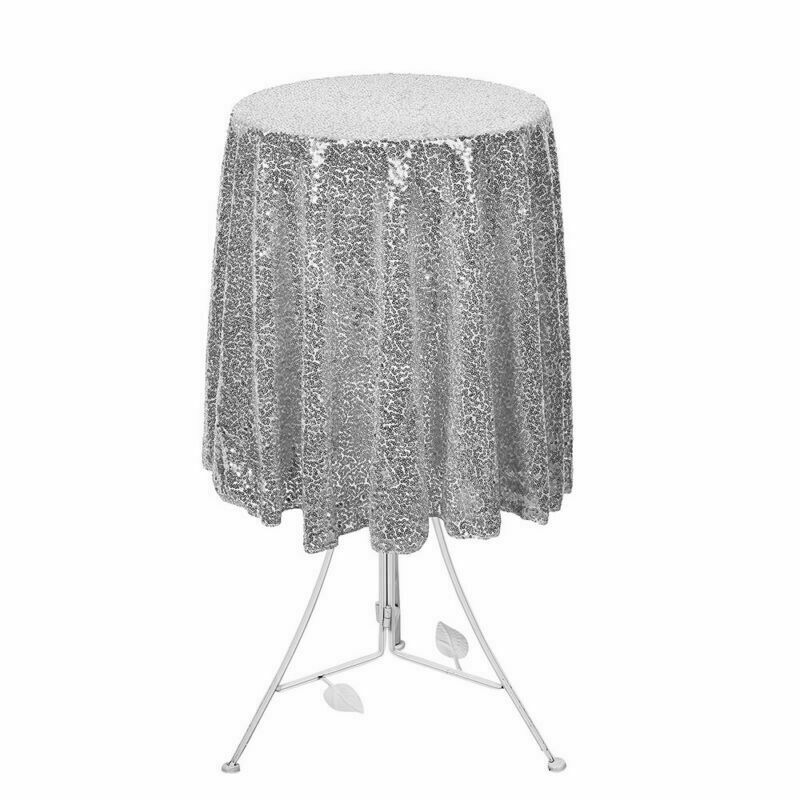 Sparkly-Round-Sequin-Tablecloth-Cover-Wedding-Banquet-Christmas-Party-Home-Decor thumbnail 21