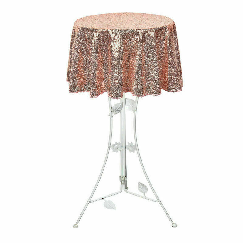 Sparkly-Round-Sequin-Tablecloth-Cover-Wedding-Banquet-Christmas-Party-Home-Decor thumbnail 30