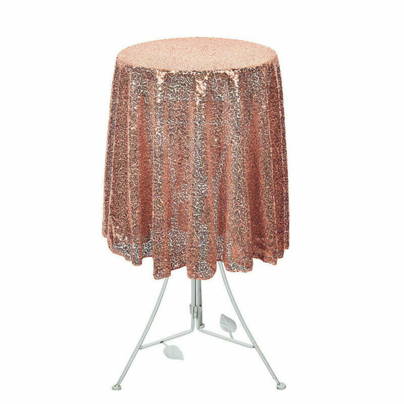 Sparkly-Round-Sequin-Tablecloth-Cover-Wedding-Banquet-Christmas-Party-Home-Decor thumbnail 31