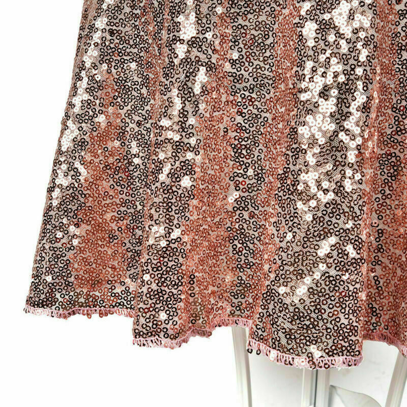 Sparkly-Round-Sequin-Tablecloth-Cover-Wedding-Banquet-Christmas-Party-Home-Decor thumbnail 35
