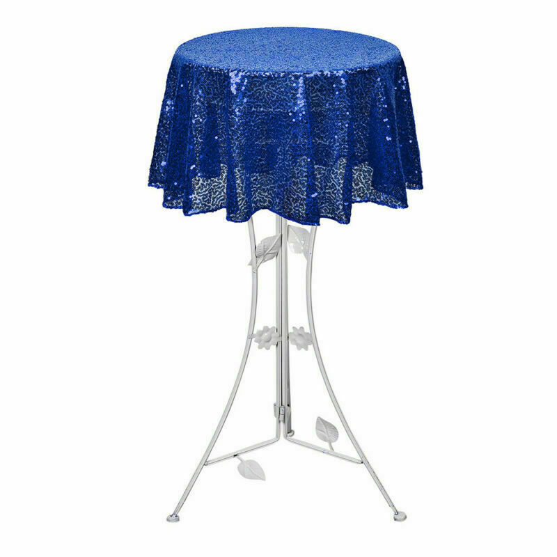 Sparkly-Round-Sequin-Tablecloth-Cover-Wedding-Banquet-Christmas-Party-Home-Decor thumbnail 51