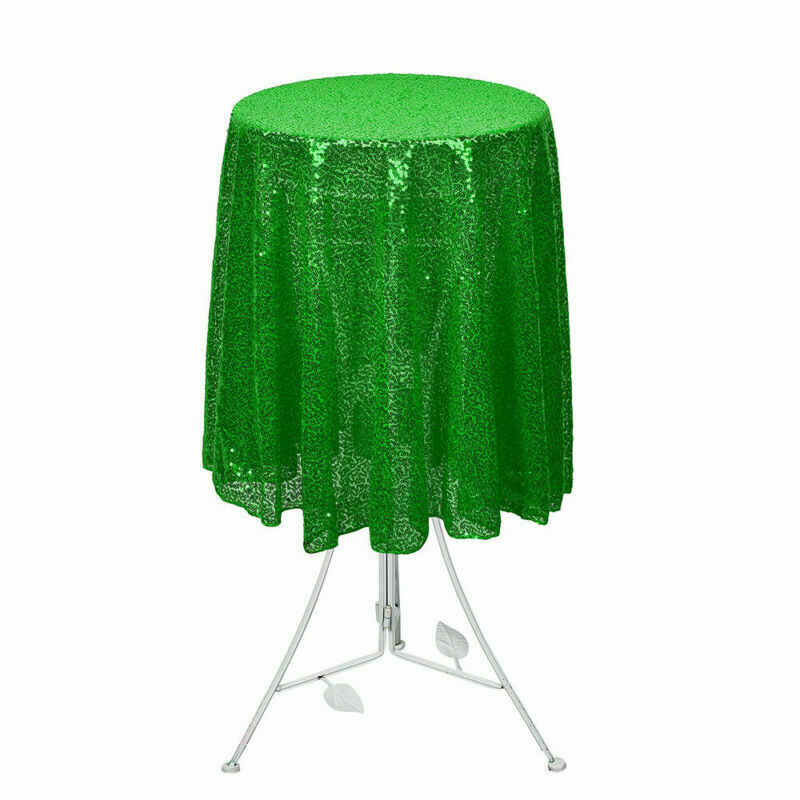 Sparkly-Round-Sequin-Tablecloth-Cover-Wedding-Banquet-Christmas-Party-Home-Decor thumbnail 58