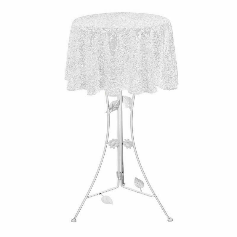 Sparkly-Round-Sequin-Tablecloth-Cover-Wedding-Banquet-Christmas-Party-Home-Decor thumbnail 12