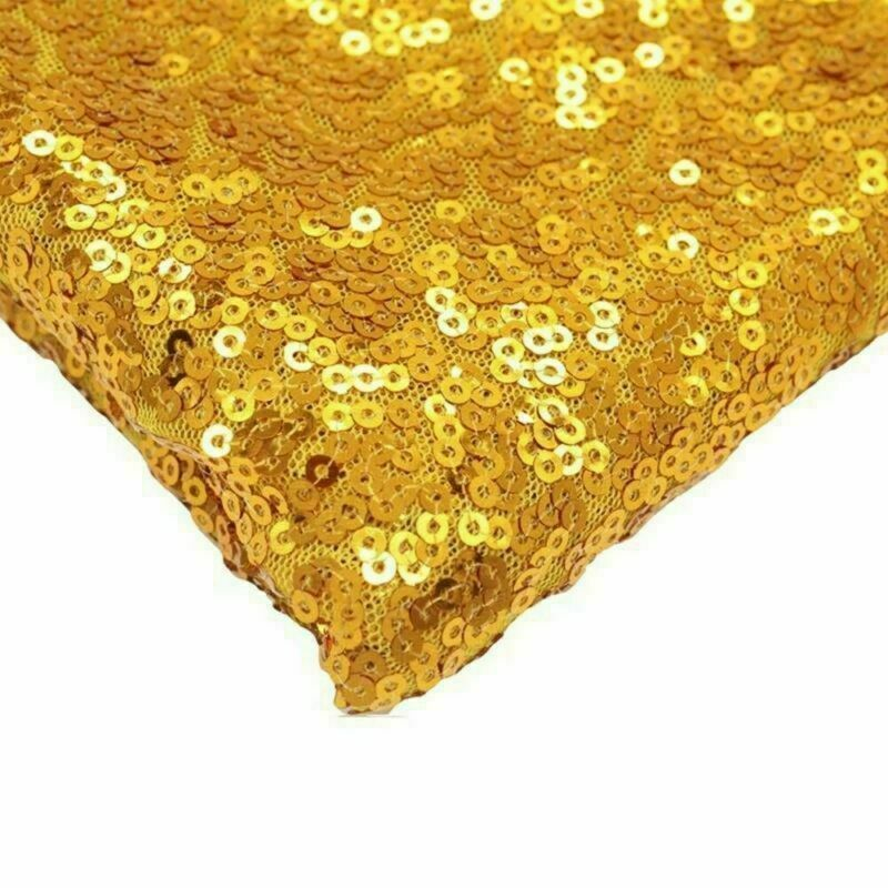 Sparkly-Round-Sequin-Tablecloth-Cover-Wedding-Banquet-Christmas-Party-Home-Decor thumbnail 70