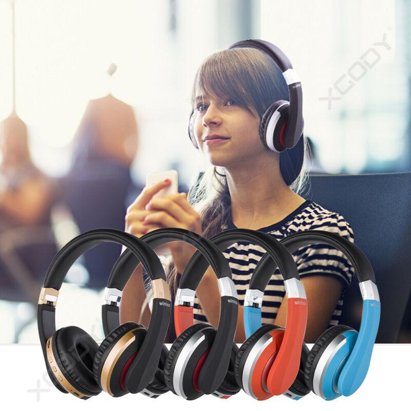 Wireless-Bluetooth-5-0-Headphone-Foldable-Stereo-Earphone-Super-Bass-Headset-Mic thumbnail 5