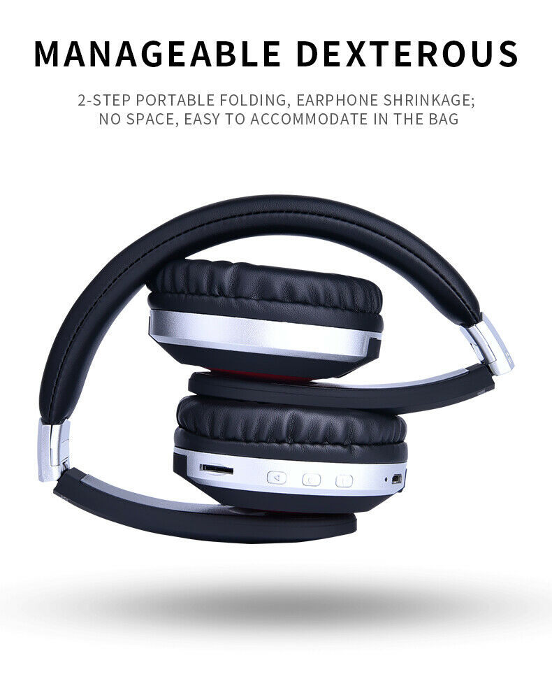 Wireless-Bluetooth-5-0-Headphone-Foldable-Stereo-Earphone-Super-Bass-Headset-Mic thumbnail 12
