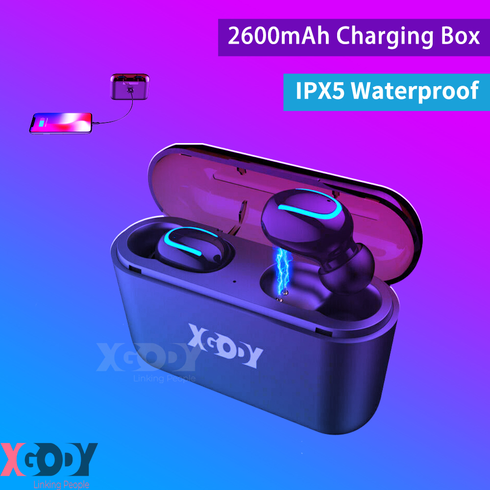 Q32 TWS Bluetooth Earphones Headset Wireless Earbuds Headpho