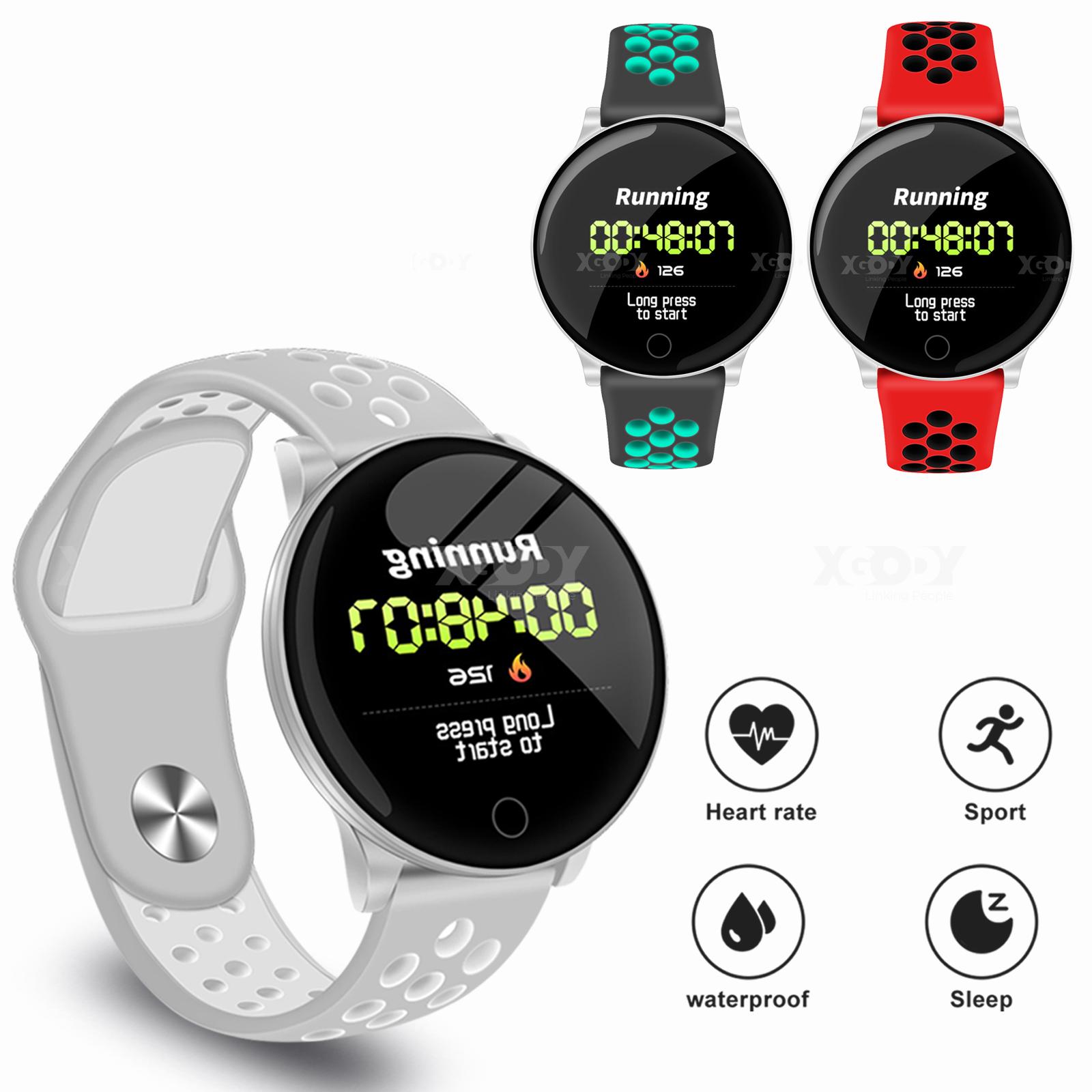 XGODY Sport Smart Watch Blood Pressure Oxygen Heart Rate Mon