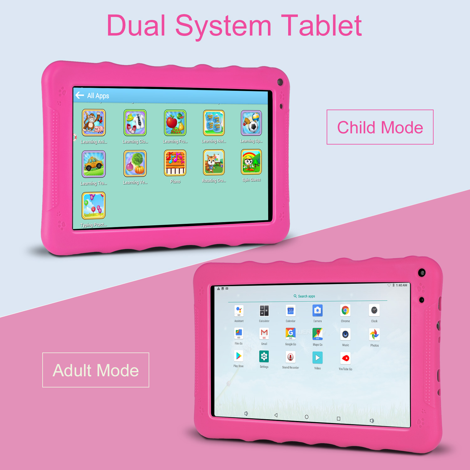 """XGODY Android 6.0 Tablet PC 9"""" inch 16GB Quad Core 2Camera W"""