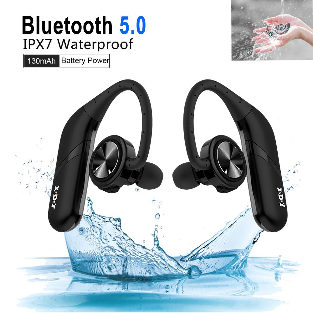 XGODY Wireless Headset Sweatproof Sports Headphones Bluetoot