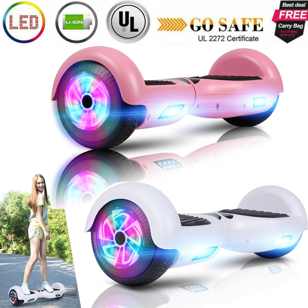 """6.5"""" Off Road Electric Self Scooter LED - UL Christmas Gift"""