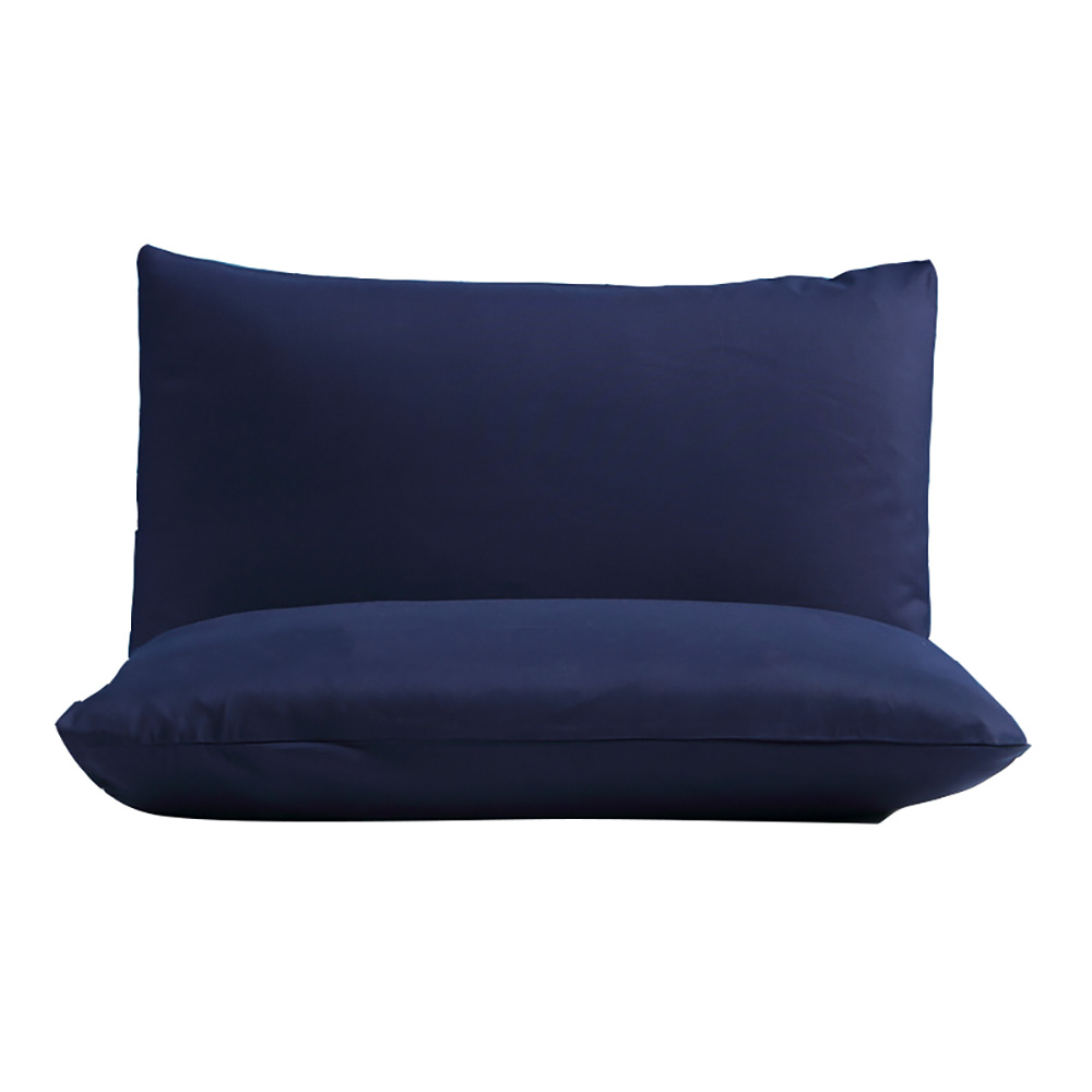 Soft-Fitted-Bed-Sheet-Bedding-Cover-Deep-Pocket-Full-King-Queen-Size-Solid-Color thumbnail 7