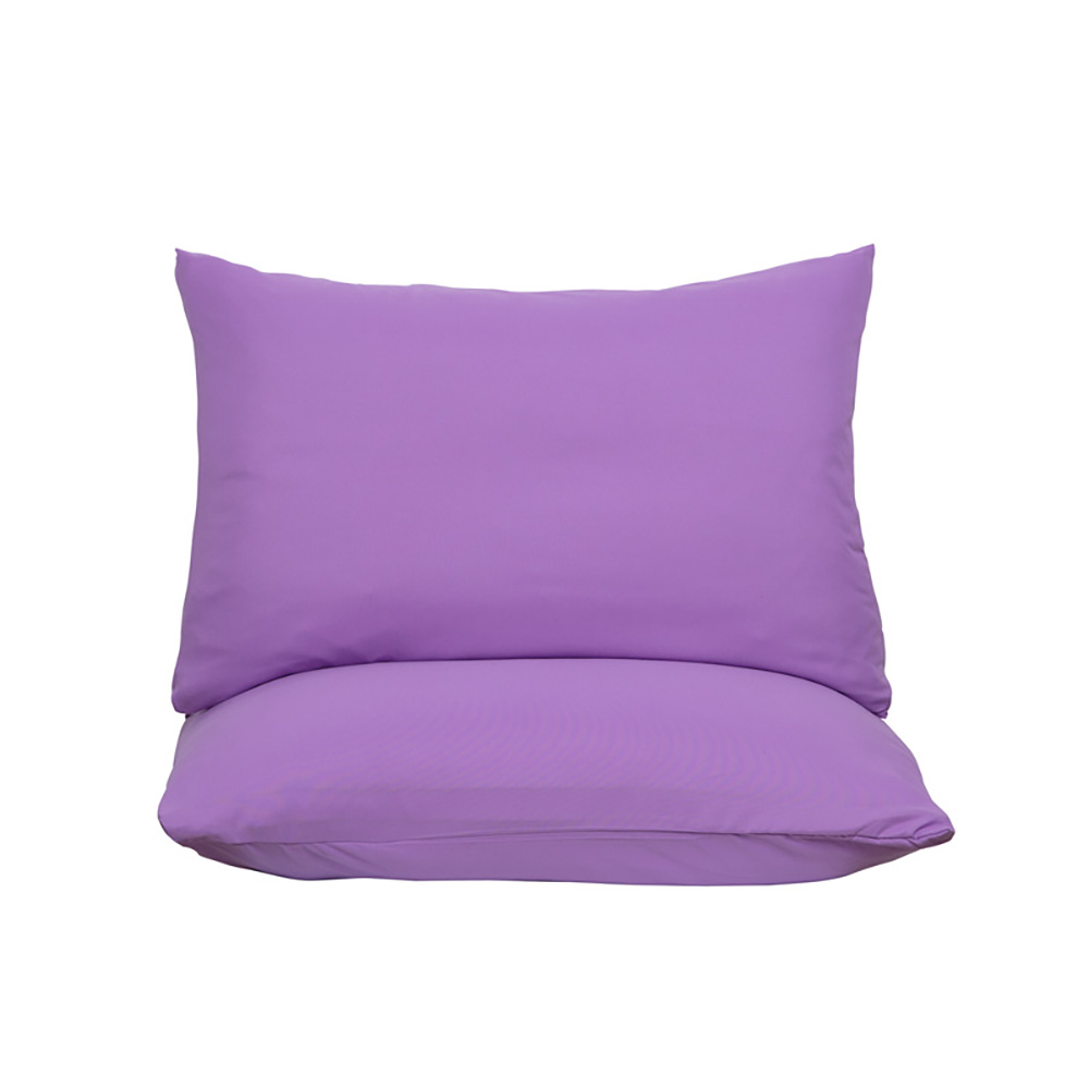 Soft-Fitted-Bed-Sheet-Bedding-Cover-Deep-Pocket-Full-King-Queen-Size-Solid-Color thumbnail 21