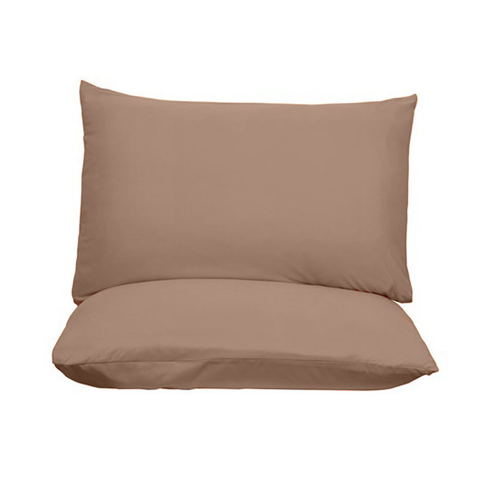 Soft-Fitted-Bed-Sheet-Bedding-Cover-Deep-Pocket-Full-King-Queen-Size-Solid-Color thumbnail 29