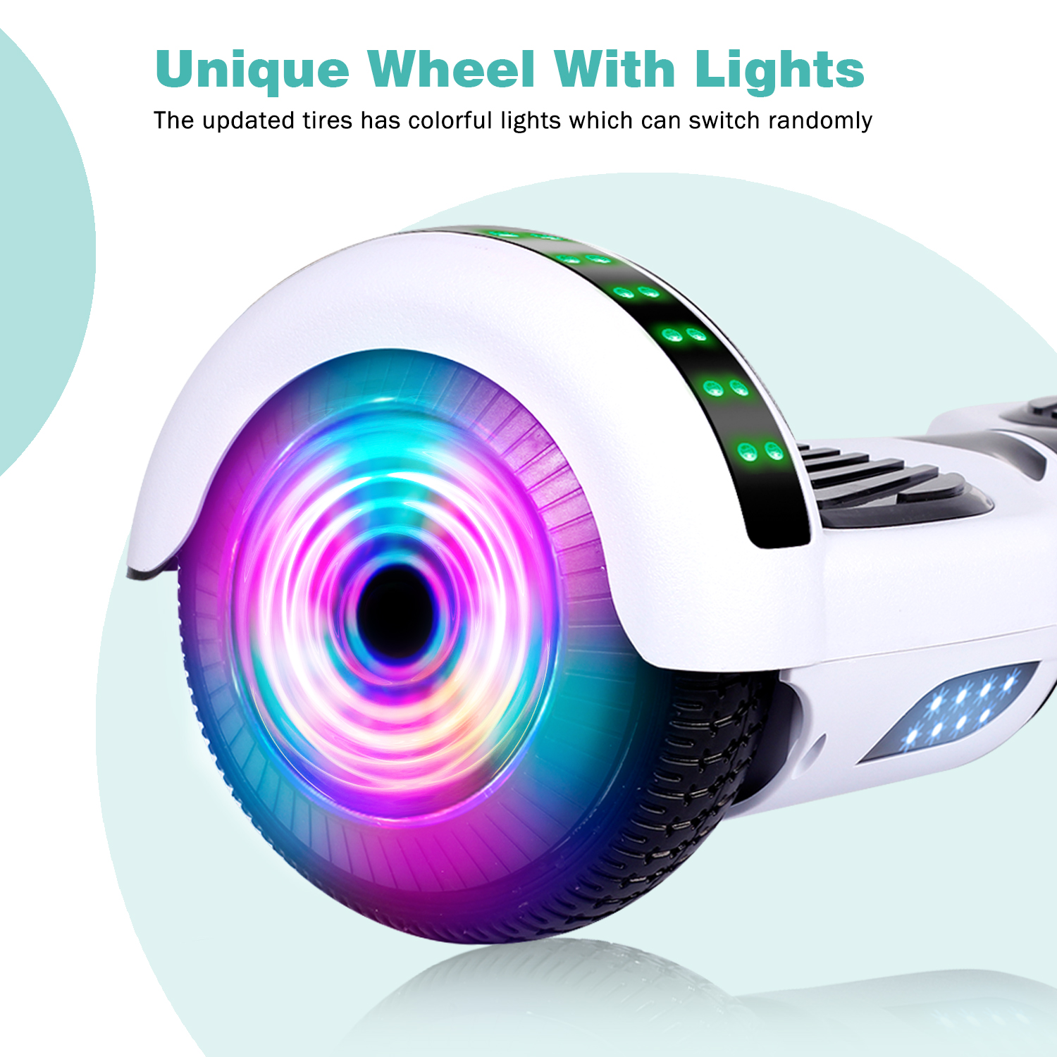6-5-034-Bluetooth-Hoverboard-LED-Self-Balancing-Scooter-UL2272-no-Bag-US-Best-Gift thumbnail 11