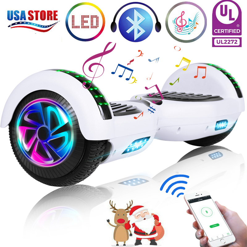 6-5-034-Bluetooth-Hoverboard-LED-Self-Balancing-Scooter-UL2272-no-Bag-US-Best-Gift