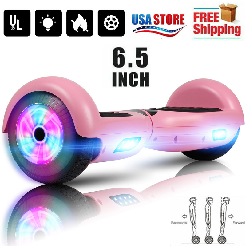 6.5'' Electric Hooverboard Balancing LED Scooter 2-Wheel Sco