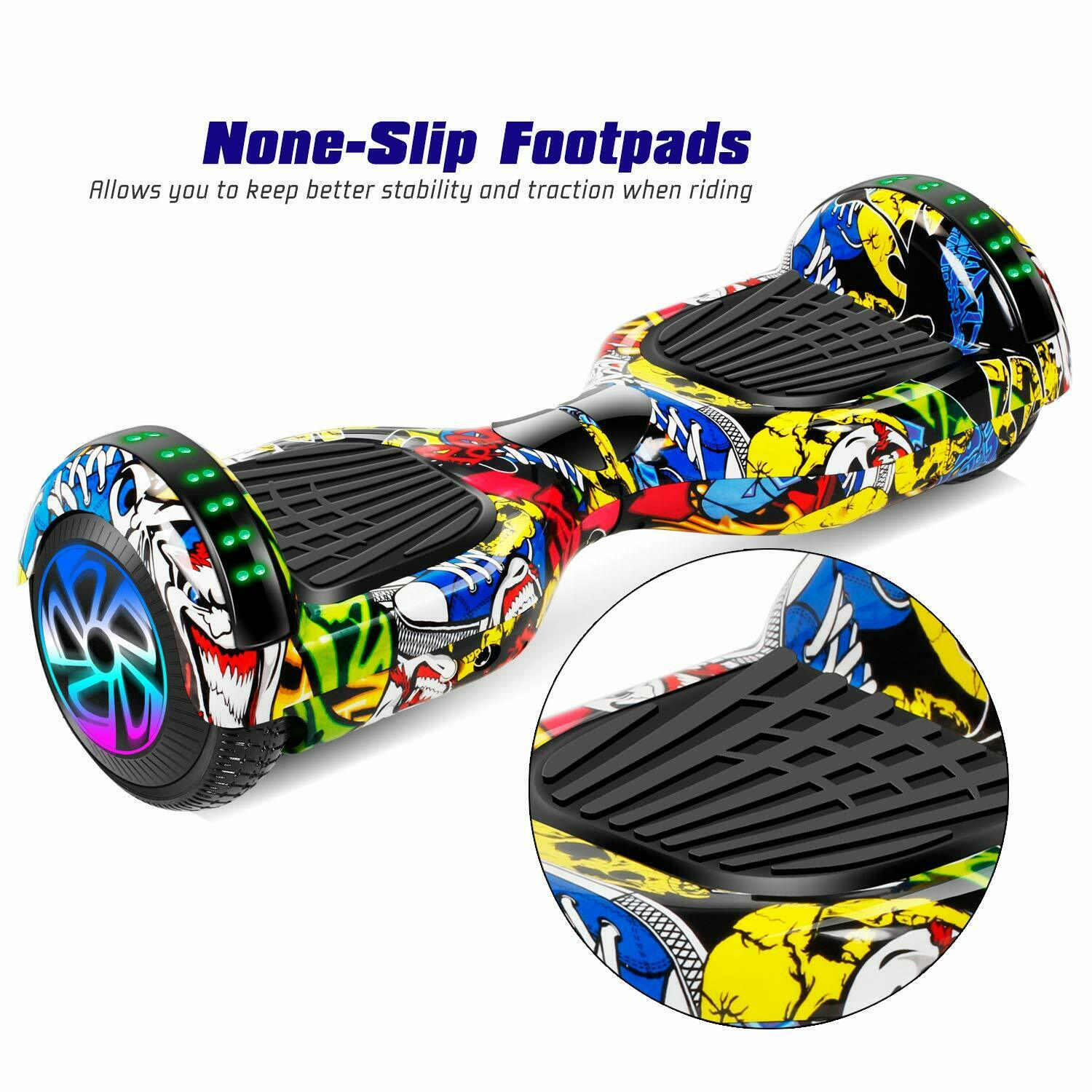 6-5-034-Electric-Hoverboard-Self-Balancing-LED-Scooter-UL-2272-Skateboard-Classic thumbnail 7