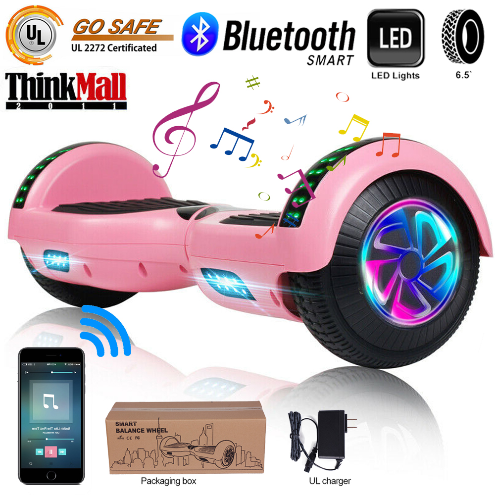 Electric Hoverboad Bluetooth LED Whithout Bag UL2272 Balance