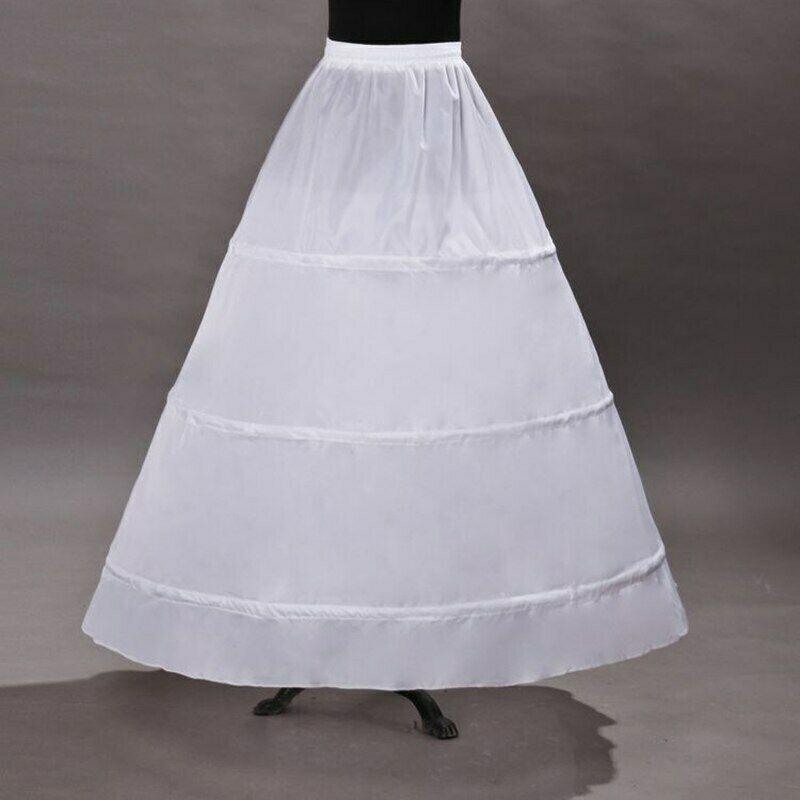 3 Hoops crinoline for a bridal dresses A-line wedding dress Petticoat Crinoline bridal Wedding gown Dress Costume accessory Underskirt