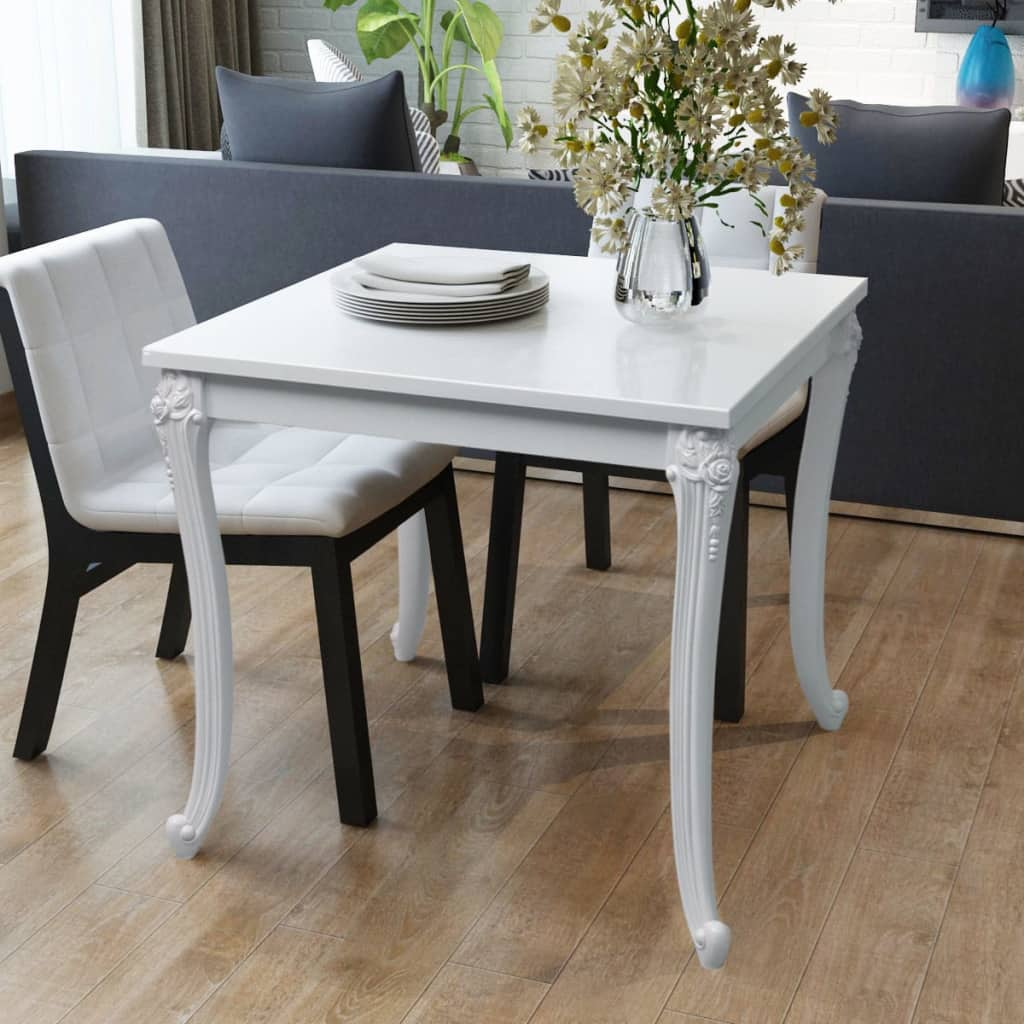 31 dining table modern design square dining room kitchen furniture white