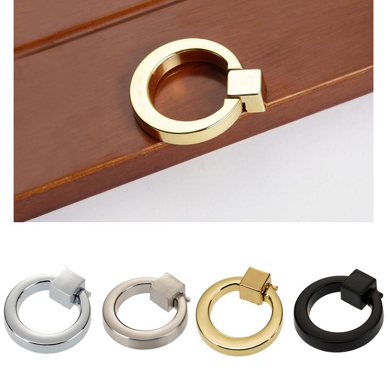 Furniture Hardware Cabinet Pull Drawer Knob Trunk Handles Rope shape 4pcs