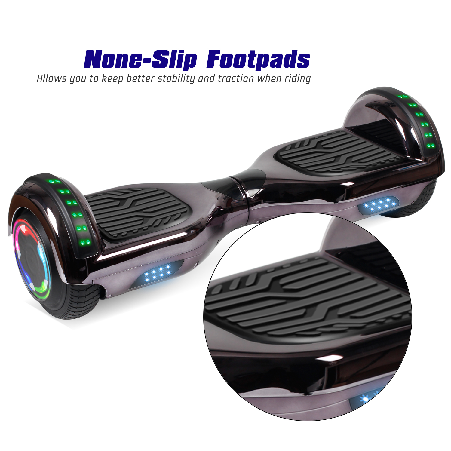 """6.5"""" Bluetooth Hoverboard Power Board Electric Scooter Kids Toy Birthday Gift   eBay"""