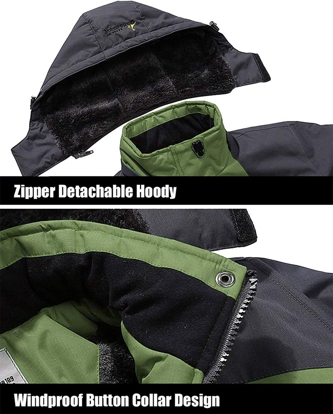 BG/_ Mens Autumn Winter Warm Outwear Zipper Jackets Casual Collar Jacket Coat Sig