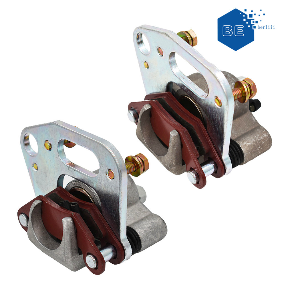 FRONT LEFT and RIGHT BRAKE CALIPER w//PADS FOR Polaris XPLORER 500 4X4 1997