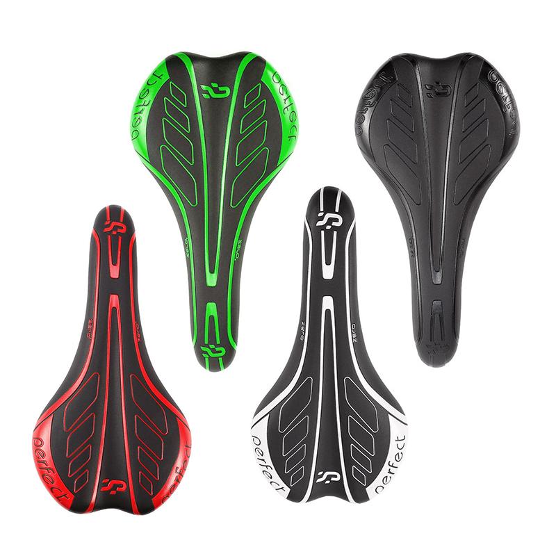 Red MTB Bicycle Cycling  Comfort Soft Cushion Pad Saddle Mountain Road Bike Seat