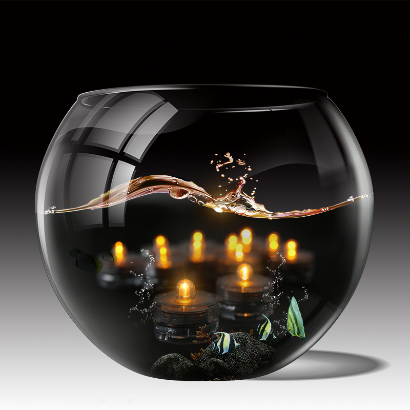 12-24-Led-Submersible-Battery-Waterproof-Wedding-Decor-Party-Vase-Tea-Light thumbnail 23